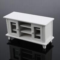 1:12 Dollhouse Decor Storage TV Cabinet Miniature Mini Furniture Kids Toy Gift