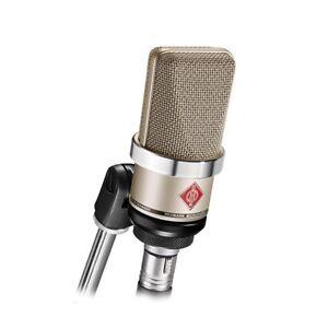Neumann TLM-102 Large Diaphragm Studio Condenser Microphone Recording Nickel NEW