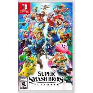 Super Smash Bros. Ultimate - Nintendo Switch Free Ship