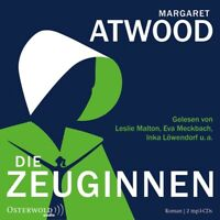 MARGARET ATWOOD: DIE ZEUGINNEN - ATWOOD,MARGARET HÖRBUCH HAMBURG 2 MP3 CD NEW