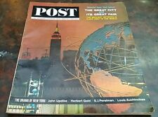 The Saturday Evening Post May 23 1964 Special New York Issue John Updike Gold