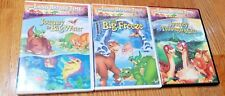 LIKE NEW Sealed Land Before Time DVD Lot (3 Movies)