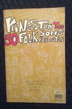 Vintage Kingston Trio 50 Folk Song Favorites - 1963
