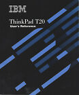 IBM ThinkPad T20 User's reference, Recovery CDs, Supp Manual, and More