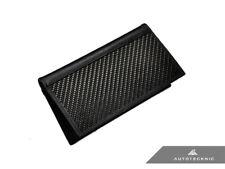 AutoTecknic UN-0027 Carbon Fiber Leather Checkbook Holder
