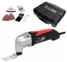 SEALEY 180w Multi Function Tool Sander Kit + Wood Blades & Sanding Pads, SMT180