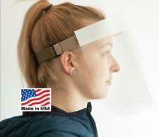 Lexan Polycarbonate Face Shield/Adjustable/Made in USA (2000 Units)