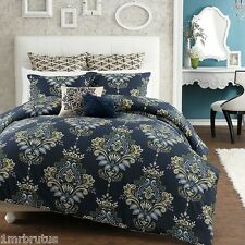 7-Pc Anthology Galaxy Full-Queen Comforter Set Paisley Floral Boho Chic Gypsy
