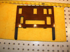 Mercedes Early W126 Center climate control ZEBRANO wood OEM 1 Cover,1266830925