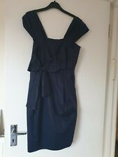 Jesire dress (10) Navy with bow detail