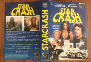 STAR CRASH DAVID HASSELHOFF JOE SPINELL RARE SYME PAL BETAMAX BETA VIDEO NRC