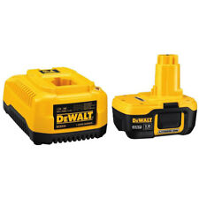 DeWalt DC9182C 7.2 to 18 Volt NiCd NiMH Lithium Ion Battery Pack & Fast Charger