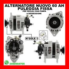 ALTERNATORE NUOVO 60AH ISUZU D-MAX I 3.0 DITD 4X4 DAL 2002 KW96 CV131 4JH1-TC 15