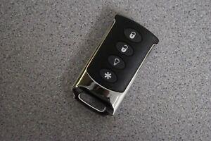 Interlogix TX-E101 4-Button Wireless Remote Keyfob NEW