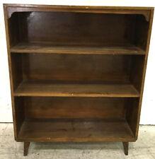Vintage Wooden Bookshelf Lot 2482