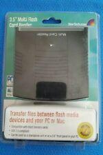 """USB 2 STARTECH 3.5"""" Multi Flash Card Reader Internal external."""
