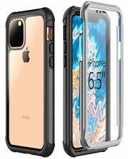 For iPhone 11 Pro Max Case Built-in Screen Protector Full Heavy Duty Protection