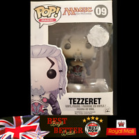 Funko Pop! Tezzeret 09 Magic The Gathering BOX DAMAGE MINT CONDITION FIGURE