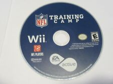 EA Sports Active: NFL Training Camp (Nintendo Wii, 2010) Disc Only