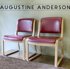 PAIR OF VINTAGE MID-CENTURY MODERN THONET BENTWOOD ARM CHAIRS IN REMARKABLE COND