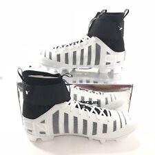 Under Armour UA C1N Cam Newton MC Football Cleats Black White 1289763-102 Sz 13