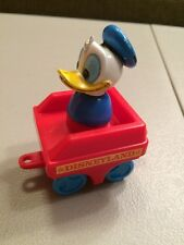 Vintage 1980's Disneyland Disney Play Set Train Replacement Caboose And DONALD