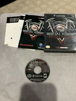 Mortal Kombat Deadly Alliance (Nintendo GameCube) COMPLETE TESTED FAST SHIPPING