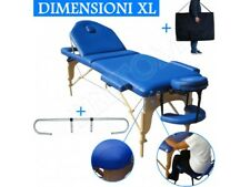 Table de massage 3 zones blue + Porte Rouleau Cosmetique lit esthetique pliante