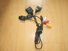 XBOX Playstation 1 2 3 PS1 PS2 N64 Gamecube SNES AV RCA S-Video HD HDTV cable