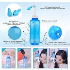 Pressione Nasale Sollievo Allergia Sinusite Neti Pot Naso Wash Detergente per bottiglia Febbre Da Fieno