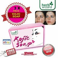 3x70g  Kojic Acid Soap Skin Lightening Whitening TRIPLE PACK