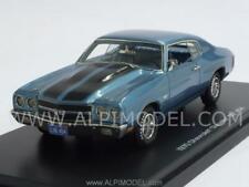Chevrolet Chevelle SS 454 1970 Light Blue Metallic 1:43 AUTO WORLD AWR1133-06