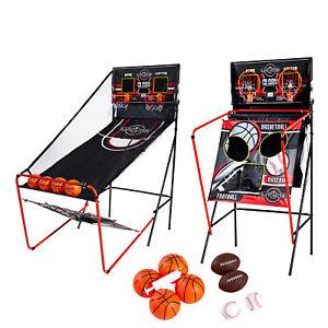 Lancaster 2 Player Electronic Arcade 3 in 1 Basketball, Football, Baseball Game