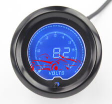 "Battery Voltage Electrical Gauge EVO Series 7 Color LCD Digital 52mm(2 1/16"")"