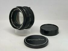 【As Is】Minolta Auto Rokkor PF 55mm F/1.8 MC Mount MF Lens from JAPAN