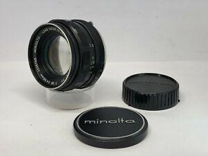 【As Is】Minolta Auto Rokkor PF 55mm F/1.8 MC Mount MF Lens from JAPAN