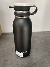 Ello 20oz Stainless Steel Damen Water Bottle Black