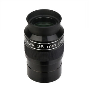 "SVBONY SV154 26mm super-wide angle 2"" telescope eyepiece SWA 70-Degree FMC"