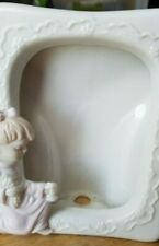 Picture Frame Little Girl Kneeling Praying 'Preowned' Hf14 Roman-China