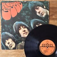The Beatles ~ Rubber Soul (Odeon OSX 232) Very Rare 1965 1st French Vinyl Import