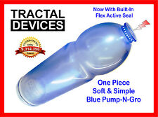 Penis Pump Made in USA NEW BLUE Soft Medical Grade Material Size #15 Pump-N-Gro