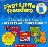 First Little Readers Guided Reading Level B : 25 Irresistible Books That Are ...