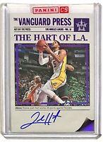 2017-18 Vanguard Josh Hart On-Card Auto RC /49 Purple Parallel Lakers Villanova