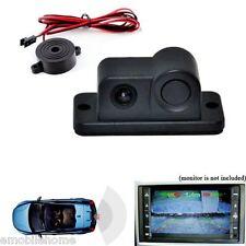 Waterproof CMOS 170° Car Rear View Reverse Backup Night Camera w/ Parking Sensor