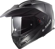 Ls2 casco moto abatible Ff324 metro Evo Gloss negro XL