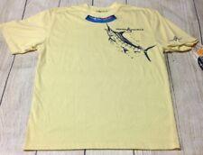 Hook & Tackle Men's Medium Yellow Tshirt New w/Tags