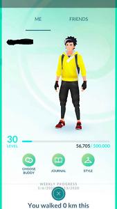 Pokemon Account GO Level 30-31 - Stardust 400K+ - Baby Pokemon- Email Changeable