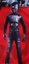 K-2So Droid Star Wars Boys Rogue One Halloween Purim Costume Muscle S M L 10 New