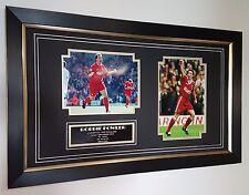 Robbie Fowler Liverpool Signé Photo Autographe Display