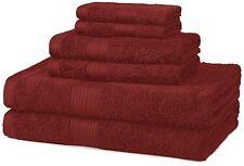 Bath Towel Set 6 Piece Cotton Set, Luxury Bathroom Washcloths, New